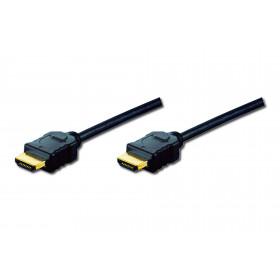 ASSMANN Electronic AK-330107-100-S cavo HDMI 10 m HDMI Type A (Standard) USB Nero