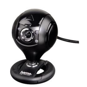 Hama 00053950 webcam 1,3 MP 1280 x 1024 Pixel USB 2.0 Nero