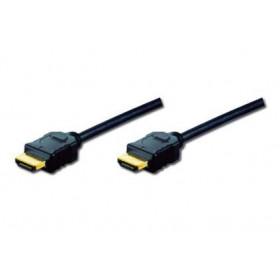 ASSMANN Electronic 2m HDMI AM/AM 2m HDMI HDMI Nero cavo HDMI