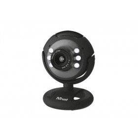 Trust Spotlight webcam 640 x 480 Pixel USB 2.0 Nero