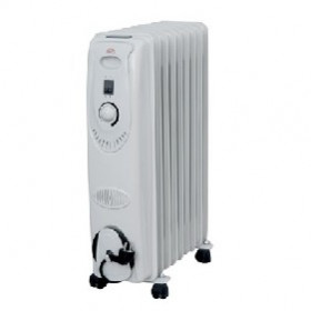 DCG Eltronic RA2811 stufetta elettrica Radiatore Bianco 2000 W