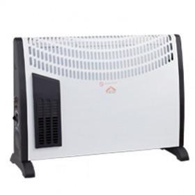 DCG Eltronic TC20T stufetta elettrica Nero, Bianco 2000 W