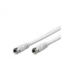 nuovaVideosuono 1.5m F-F 1.5m Bianco cavo coassiale