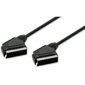 nuovaVideosuono Scart 1.5m M-M 1.5m SCART (21-pin) SCART (21-pin) Nero Cavo SCART