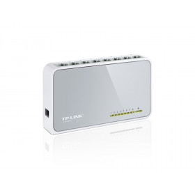 TP-LINK 8-Port 10/100Mbps Desktop Switch No gestito Bianco
