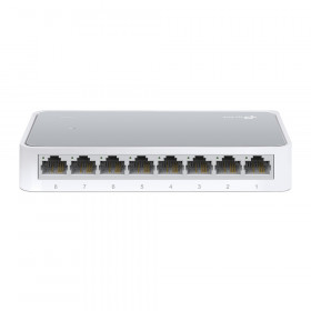 TP-LINK 8-Port 10/100Mbps Desktop Switch Non gestito Bianco