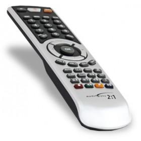 G.B.S. Elettronica 2082 IR Wireless Premi i pulsanti Nero, Argento telecomando