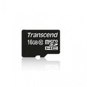 Transcend 16GB microSDHC Class 10 UHS-I 16GB MicroSDHC Classe 10 memoria flash