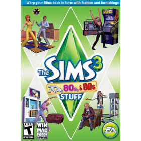Electronic Arts The Sims 3: 70s, 80s, & 90s Stuff, PC PC Inglese videogioco