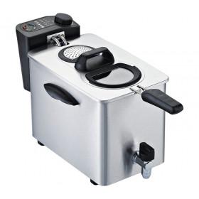 RGV FR TYPE4L friggitrice 4 L Singolo Nero, Acciaio inossidabile Indipendente 2500 W