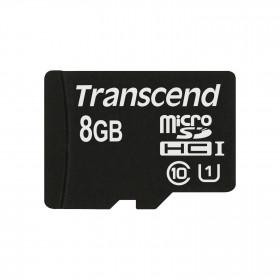 Transcend 8GB microSDHC Class 10 UHS-I memoria flash Classe 10