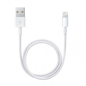 Apple Lightning / USB 0.5m USB A Bianco cavo USB