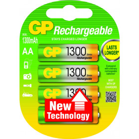 GP Batteries AA Rechargeable battery Nichel-Metallo Idruro (NiMH)