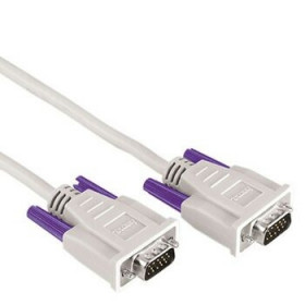 Hama Monitor VGA Connecting Cable,15-pin HDD male - 15-pin HDD male, 1.8 m 1.8m VGA (D-Sub) VGA (D-Sub) Grigio cavo VGA