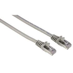 Hama 8p8c (RJ45) male plug - 8p8c (RJ 45) male plug cavo di rete 5 m Grigio