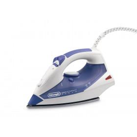 DeLonghi FXK20 Ferro da stiro a secco e a vapore Acciaio inossidabile 2000W Viola, Bianco