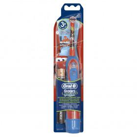 Braun 400KIDS spazzolino elettrico Child Spazzolino rotante Blu, Rosso