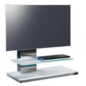 """Munari SY 341 139,7 cm (55"""") Banco a rotelle per monitor portatili a schermo piatto Bianco"""
