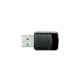 D-Link AC750 WLAN 433Mbit/s scheda di rete e adattatore
