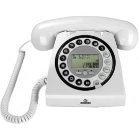 Brondi Hallo Telefono DECT Identificatore di chiamata Bianco
