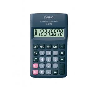 Casio HL-815L calcolatrice Tasca Calcolatrice di base Nero