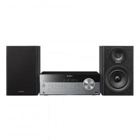 Sony CMT-SBT100B Microsistema audio per la casa Nero, Argento 50 W
