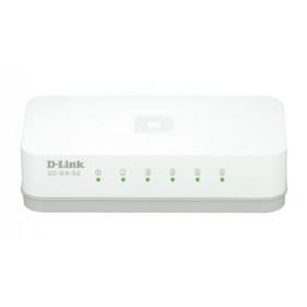 D-Link GO-SW-5E switch di rete Non gestito Fast Ethernet (10/100) Bianco