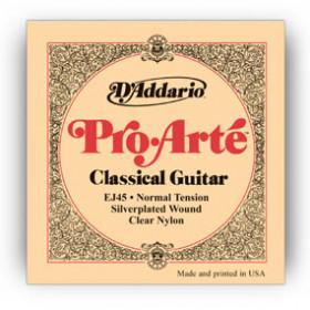 D'Addario EJ45 corda per strumenti musicali Chitarra Nylon Classico 6 pezzo(i)