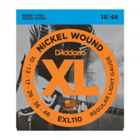 D'Addario EXL110 corda per strumenti musicali Chitarra Acciaio Elettrico 6 pezzo(i)