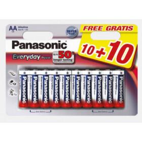 Panasonic LR6EPS/20BW 1.5V batteria non-ricaricabile