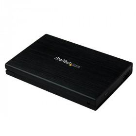 """StarTech.com Box Esterno HDD per disco rigido SATA III 2.5"""" USB 3.0 con UASP in alluminio con cavo incorporato - 6Gbps"""