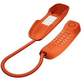 Gigaset DA210 Telefono analogico Arancione