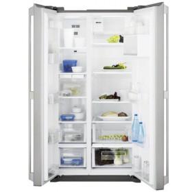Electrolux EAL6240AOU frigorifero side-by-side Libera installazione Acciaio inossidabile 577 L A+