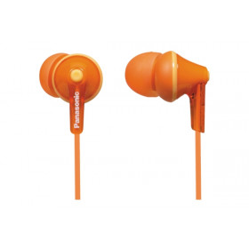Panasonic RP-HJE125E-D Arancione Intraurale Auricolare cuffia