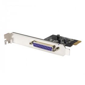 StarTech.com Scheda adattatore parallela PCI Express doppio profilo a 1 porta - SPP/EPP/ECP