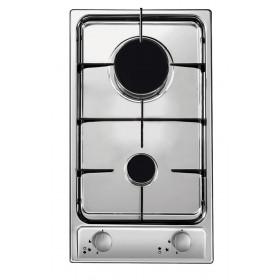 Candy CDG32/1SPX piano cottura Acciaio inossidabile Incasso Gas 2 Fornello(i)