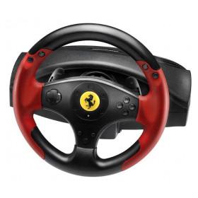 Thrustmaster Ferrari Racing Wheel Red Legend PS3&PC Sterzo + Pedali PC, Playstation 3 Nero, Rosso