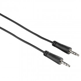 Hama 7122308 cavo audio 1,5 m 3.5mm Nero