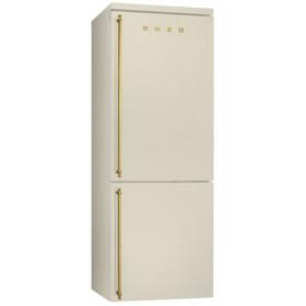 Smeg FA8003P Libera installazione 346L A+ Crema frigorifero con congelatore