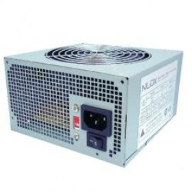 Nilox NX-PSNI5001 alimentatore per computer 500 W ATX Argento