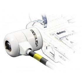 Mobilis Corporate Key cavo di sicurezza Bianco 1,8 m