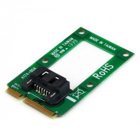 StarTech.com Adattatore mSATA a HDD / SSD SATA – Scheda convertitore Mini SATA a SATA