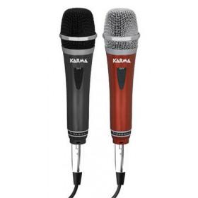 Karma Italiana DM 522 Cablato Nero, Rosso microfono