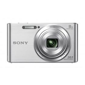 Sony Cyber-shot DSCW830, fotocamera compatta con zoom ottico 8x, Silver