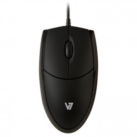V7 Ratón LED óptico USB - nero