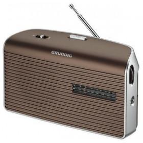 Grundig Music 60 Personale Analogico Marrone, Argento radio
