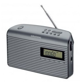 Grundig Music 61 Portatile Digitale Nero, Grafite radio