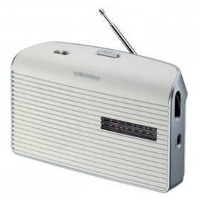 Grundig Music 60 Personale Analogico Argento, Bianco radio