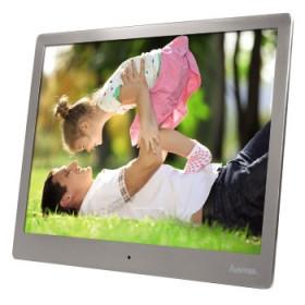 "Hama Steel cornice per foto digitali 24,6 cm (9.7"") Argento"