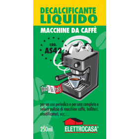 Elettrocasa Decalcificante Liquido per Caffè